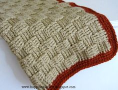 Happiness Crafty: Crochet Baby Blanket ~ Free Pattern
