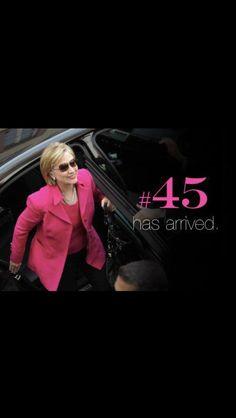 Hillary Clinton #45
