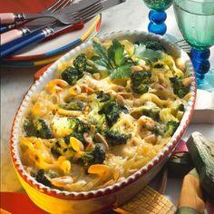 Broccoli-Nudelauflauf Rezept | LECKER