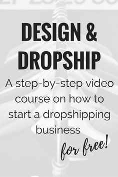 I've had a lot of people reach out about the possibility of starting a dropshipping business. Seeing how many people are interested in learning more about this, I wanted to put something together. So...first off, what is dropshipping? Dropshipping is when you feature a product i