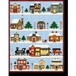 Holiday Snow Village Quilt Block of the Month - December 2016