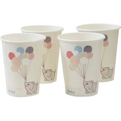 Ginger Ray Little One Baby Shower Paper Cups 8 Pack | Hobbycraft