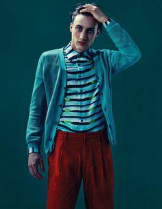 Bobby Nicholas, Cameron Handley & Tomek Szalanski by John Burke for Fashionisto #7 - The Fashionisto: The Latest in Fashion from Runway to Print