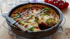 Italiensk Pai - Oppskrift fra TINE Kjøkken Vegetarian Eggs, Pesto, Nom Nom, Mozzarella, Dinner Recipes, Veggies, Soup, Breakfast, Ethnic Recipes