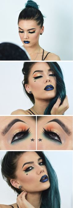 I would do ny makeup like this erryday if i could! Buuuut it'd scare some peeps