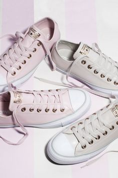 Crushin' on pastels 😍 Powder Pink, Pastels, Baby Blue, Blues, Converse, Sneakers, Fashion, Tennis, Moda