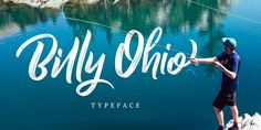 Check out the Billy Ohio font at Fontspring. Billy Ohio  typeface