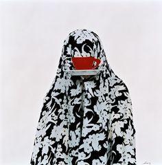 "The series ""Like Everyday"" of Iranian photographer Shadi Ghadirian -women as everyday objects (gender inequality) Teheran, Iranian Art, Arabic Art, Postmodernism, Everyday Objects, Magazine Art, Islamic Art, British Museum, Contemporary Art"