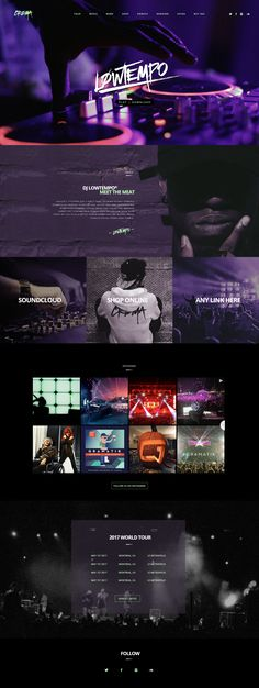 Croma is a creative and responsive #WordPress #theme dedicated to singers, music bands and musicians. With the Croma Music Template, you will be able to create a stunning website for your music. It's a perfect theme to promote electronic press kits, online merch stores and your beautiful music.