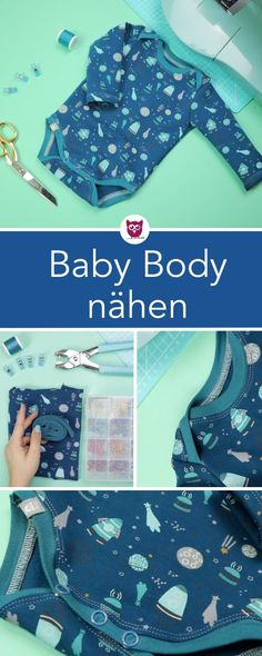 Easy Baby Sewing Patterns, Baby Clothes Patterns, Sewing Projects For Kids, Sewing For Kids, Body Baby, Auntie Baby Clothes, Sewing Kids Clothes, Diy Sweatshirt, Free Baby Stuff