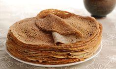 Galettes de sarrasin légères,recette de délicieuses crêpes à la farine de sarrasin, idéales pour toutes vos garnitures salées.