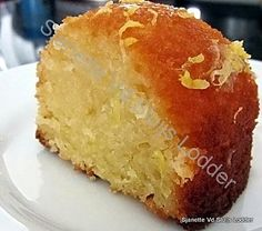 Moist Lemon or Orange Loaf / Bundt Cake. A great recipe which will give you a moist cake every time!