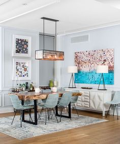 nolita apartment // bold artwork