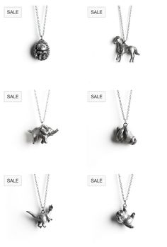 My animal totem necklaces are currently on sale! :) www.leanimale.com