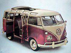 Volkswagen Bus, Camper, Van, Pick-Up, Wagon Vw Camper Bus, Vw Caravan, Kombi Motorhome, Campers, Volkswagen Transporter, Volkswagen Bus Camper, Vw T1, Volkswagon Van, Combi Ww