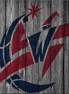 Joe Hamilton - WASHINGTON WIZARDS WOOD FENCE