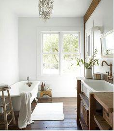 Bathroom rusticness