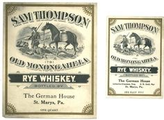 In frontier country, whiskey was as valuable as gold. #reasonstodrinkmorewhiskey
