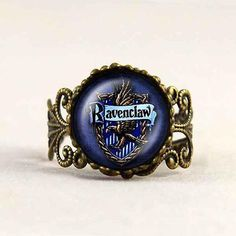 These Harry Potter Rings are suitable for all fans of Hogwarts. Cute, simple, geeky, funny gift for you or your friend. :) The basic ring is made of copper. This pattern is handcrafted using an beauti