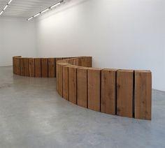 Cedar Angellobes by Carl Andre