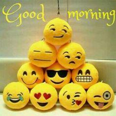 Good morning tennis ball faces