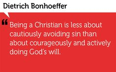 Provision House – Quote of the Week – Dietrich Bonhoeffer