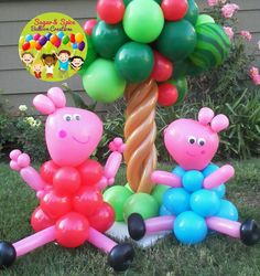 Peppa Pig & George Balloon