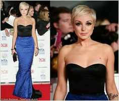 Helen George and a lovely pixie look