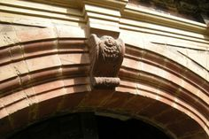Gates at Staunton Harold.