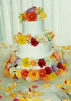 Google Image Result for http://www.humphreyflorist.com/photos/wedding/large/w07_wedding_cake_yellow_orange_red_purple.jpg