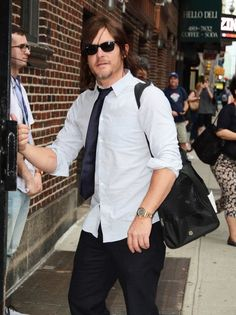 Norman Reedus Photos Photos - Celebrities make an appearance on the 'Late Show With Stephen Colbert' in New York City, New York on June 7, 2016. - Celebrities Visit the 'Late Show With Stephen Colbert'