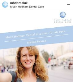 """Much Hadham dental practice is a must for all ages. They have outstanding customer service and really know how to look after their patients. I would happily recommend this practice to anyone! Dental Health, Dental Care, Invisible Braces, Teeth Straightening, Root Canal Treatment, Simply Life, Care For All, Perfect Smile, Dental Services"