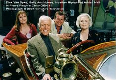 The first ever reunion of the stars of Chitty Chitty Bang Bang, complete with the original car (2004)
