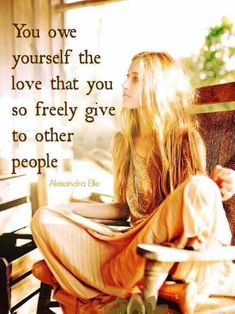 Note to self: You owe yourself the love that you so freely give to other people. Great Quotes, Quotes To Live By, Me Quotes, Motivational Quotes, Inspirational Quotes, Frida Quotes, Tai Chi Chuan, Emotion, Beautiful Words