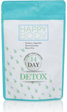 Happy Body Tea 14 Day Detox Tea- Reduce Bloating- Enhance Weight Loss- Suppress Appetite- Detoxify Body- Clean & Bright Skin- Increase Energy Levels- 100% Natural- Blend Of Traditional Herbs Best Price