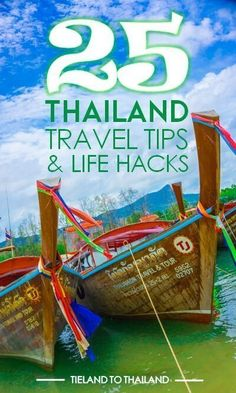 25 Handy Thailand Travel Tips and Life Hacks - Flight, Travel Destinations and Travel Ideas Europe Travel Tips, Travel Advice, Travel Destinations, Travel Ideas, Romantic Destinations, Backpacking Europe, Travel Goals, Travel Packing, Japan Travel