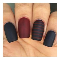 Black Burgundy nail polish ❤ liked on Polyvore featuring beauty products, nail care and nail polish