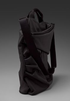Puma Urban Mobility by Hussein Chalayan Downtown Shoulder Bag in Black - Handbags