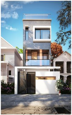 Housing by hai smoke, via Behance