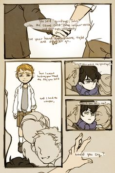 Sherlock // Love Hurts. Full & credits http://teaat2am.tumblr.com/post/18441836770/orphanage-au-love-hurts-piano-ver-by-yiruma