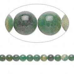 "Bead, African ""jade"" (natural), 4mm round, B grade, Mohs hardness 7. Sold per 16-inch strand."