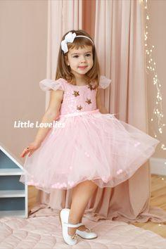 Girl's handmade pom pom tutus, swimsuits, dresses, etc. Baby Princess Dress, Baby Girl Dresses, Baby Dress, Pink Dress, Flower Girl Dresses, Holiday Dresses, Tutu, Ball Gowns, Sequins
