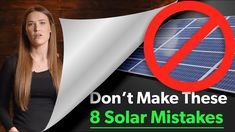 8 Costly Solar Mistakes to Avoid When You Design Your Solar Panel Kit Solar System Kit, Solar System Design, Solar Energy System, Solar Panel Kits, Solar Energy Panels, Best Solar Panels, Solar Roof, Energy Companies, Solar Projects