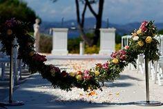 Wedding Ceremony St tropez with Luxuria Events