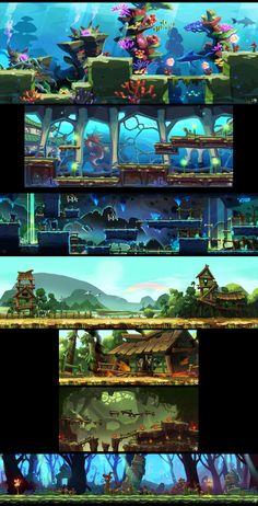 ArtStation - Environment concept, JJutang Ha