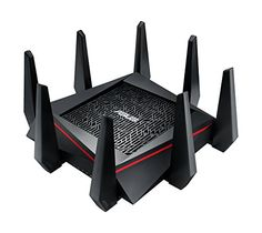 ASUS AC5300 WiFi Tri-band Gigabit Wireless Router with 4x...
