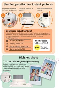 Instax mini 8 tips