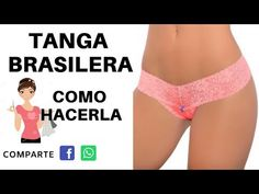 TANGA BRASILERA COMO HACERLA MOLDES DESCARGAR - YouTube Underwear Pattern, Aesthetic Iphone Wallpaper, Cardio, Lingerie, Sewing, Crochet, Womens Fashion, Swimwear, Free Pattern