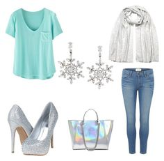 """""""Elsa inspired outfit"""" by shobes on Polyvore"""
