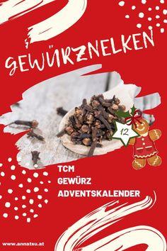 Hinter Türchen 12 meines Gewürz Adventskalenders verbirgt sich die Gewürznelke. Ich verrate dir die Wirkung von Gewürznelken sowie ein geniales Rezept in der Podcast-Folge vom Gewürz Adventskalender. #gewürznelke #gewürzadventskalender #weihnachten #adventskalender